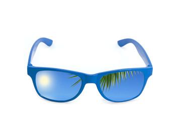 Sonnenbrille Konzept Traumurlaub