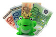euro mit frosch
