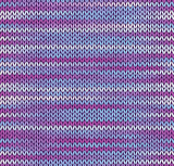 Style Seamless Knitted Pattern. Blue Pink White Color Illustrati