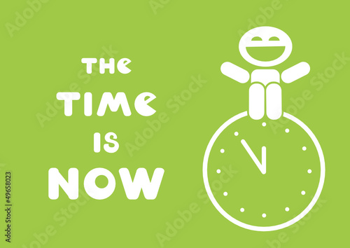 the time is now motivational message