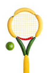 Veggie tennis federation.
