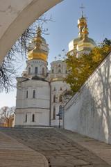 Uspensky cathedral, Kiev-Pechersk lavra monastery. Ukraine.