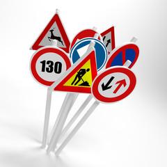 panneaux routiers