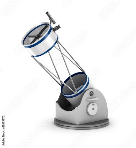 Dobson reflector telescope. - 49659870