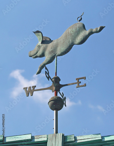 Pig Weather Vane