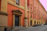 Italy, Bologna old building in Celestini square