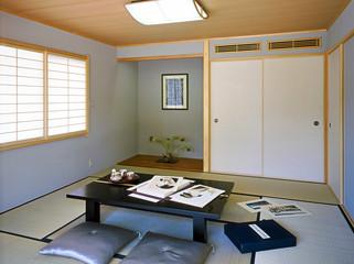 日本の間、和室