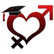 Sex Education - Hat on Heart Shape