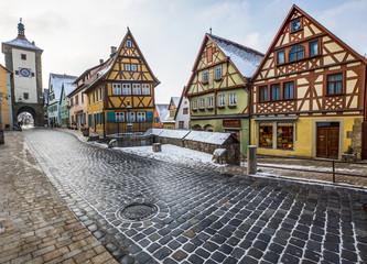 The Ploenlein, Rothenburg ob der Tauber, Germany