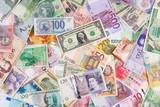 Geldscheine bilden einen Hintergrund - 49669842