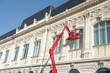 travaux acrobatiques - nettoyage de vitres
