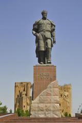 Timur Statue in Shahrisabz