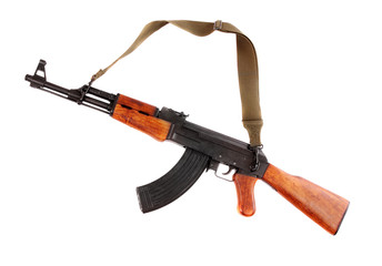 The assault rifle traditional weapon for terrorist guerrilla.