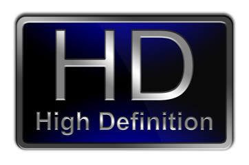 High Definition Display Icon