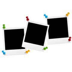 Polaroids mit Pin
