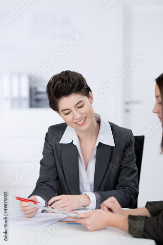 kollegen im meeting