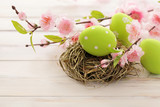 Fototapety easter decoration