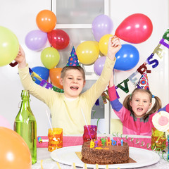 children at birthday