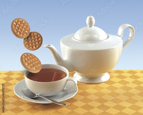 Cup of tea and coochies