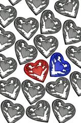 Symbolisch Liebespaar