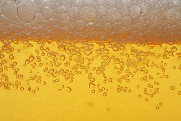 Beer foam macro