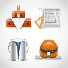 building and repair vector icons xxl
