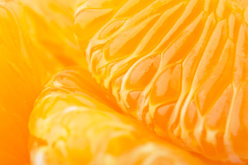 closeup of mandarins