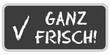 CB-Sticker TF eckig oc GANZ FRISCH!