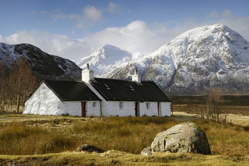 Blackrock Cottage, Glencoe, Scotland
