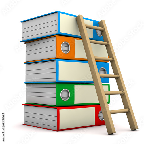 Folders With Ladder