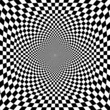 Vector illustration de fond d'illusion optique