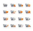 Folder Icons - 2 // Graphite Series