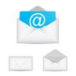 E-mail set vector icon EPS10