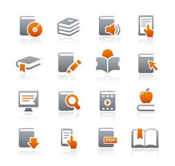 Book Icons // Graphite Series