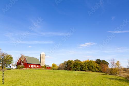 Farm With Silo