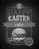 Easter card. Vector illustration.