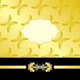 Luxury gold card