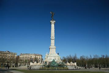 monument des girondins place des quinconces