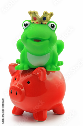 sparschwein und froschkönig