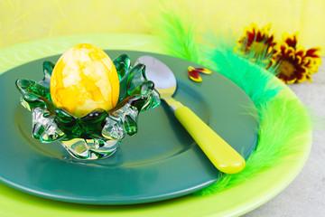 Osterei zum Frühstück