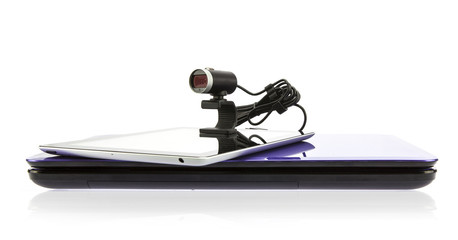 Laptop and tablet computers with HD webcam