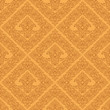 Seamless  damask wallpaper of beige color.
