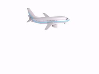 aereo in viaggio