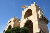 Spain - Valencia - old fortification, Torres de Serranos
