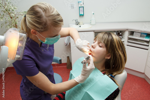 dentist make anesthesia