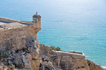Castle of Santa Barbara,  Alicante (Spain)