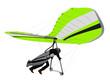 Hang Glider Green on Ramp