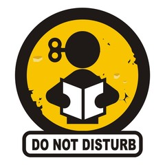 Not disturb sign