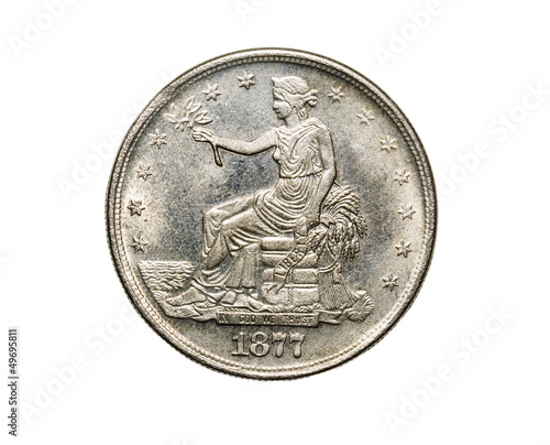 United States Original Silver Trade Dollar