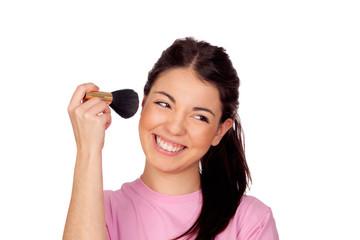 Nice girl make-up